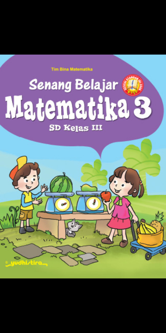 Foto Produk Senang belajar matematika kelas 3 Sd Ktsp dari Tokobuku Rostangg