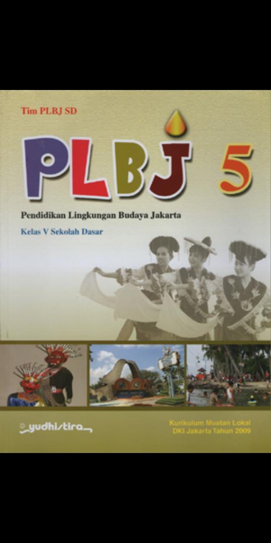 Foto Produk Plbj pendidikan lingkungan budaya jakarta kelas 5 Sd Ktsp dari Tokobuku Rostangg