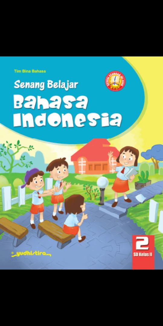 Foto Produk Senang belajar Bahasa indonesia kelas 2 Sd Ktsp dari Tokobuku Rostangg