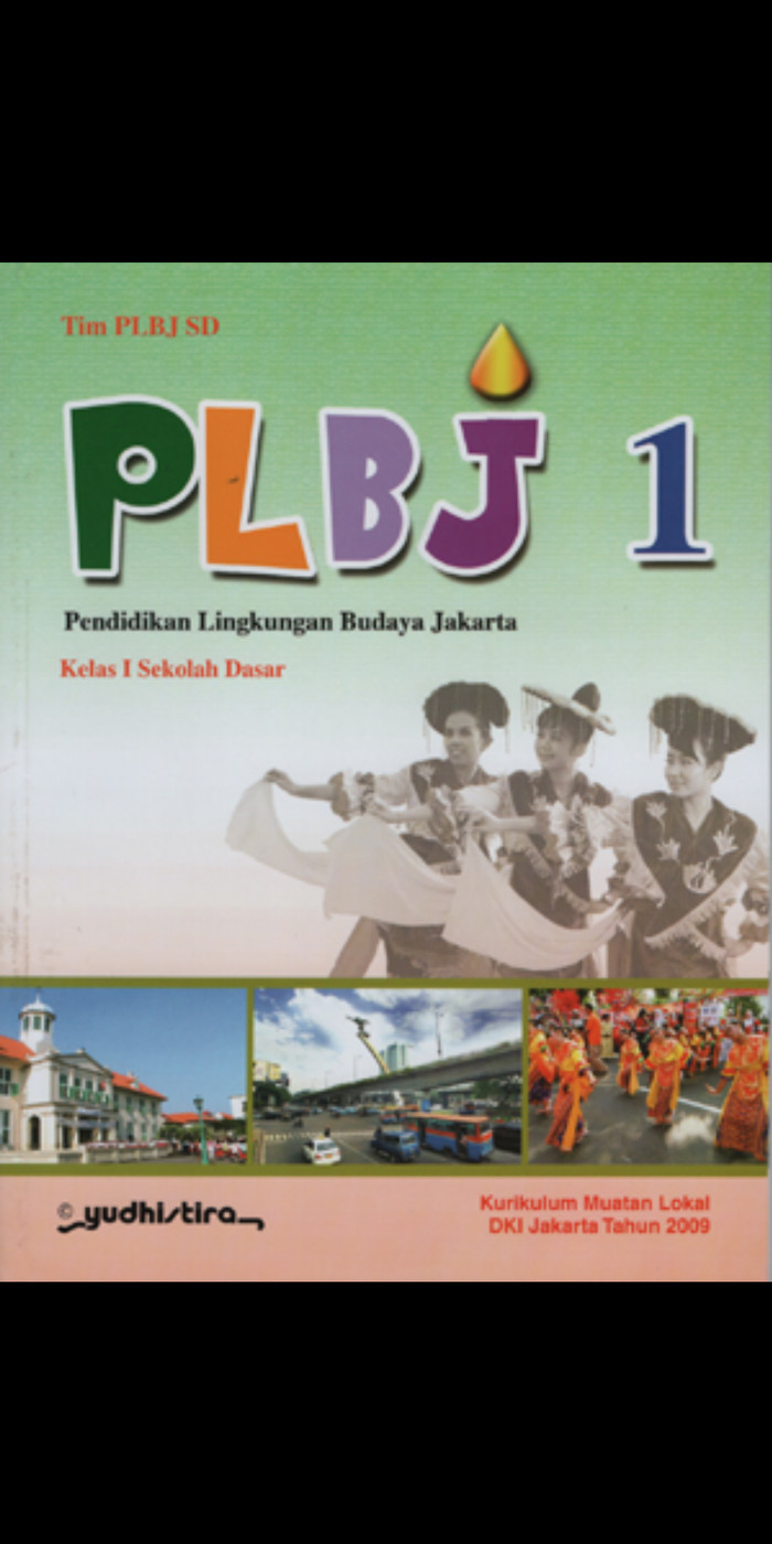 Foto Produk Plbj pendidikan lingkungan budaya jakarta kelas 1 Sd Ktsp dari Tokobuku Rostangg