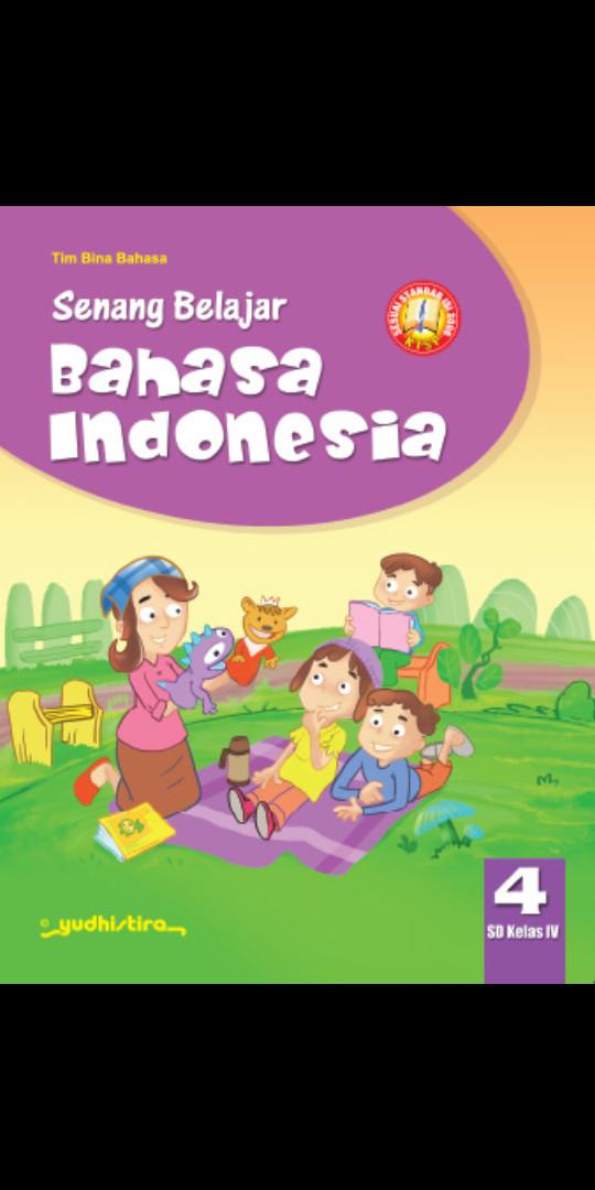 Foto Produk Senang belajar Bahasa indonesia kelas 4 Sd Ktsp dari Tokobuku Rostangg