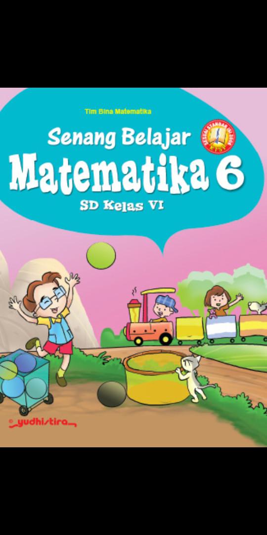 Foto Produk Senang belajar Matematika kelas 6 Sd Ktsp dari Tokobuku Rostangg