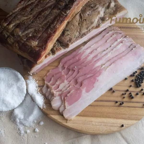 Foto Produk Fumoir Italian Spiced Smoked Bacon 150g dari Fumoir