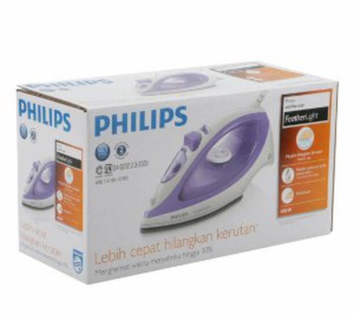 Philips Setrika Uap GC 1418 - Ungu DISKON