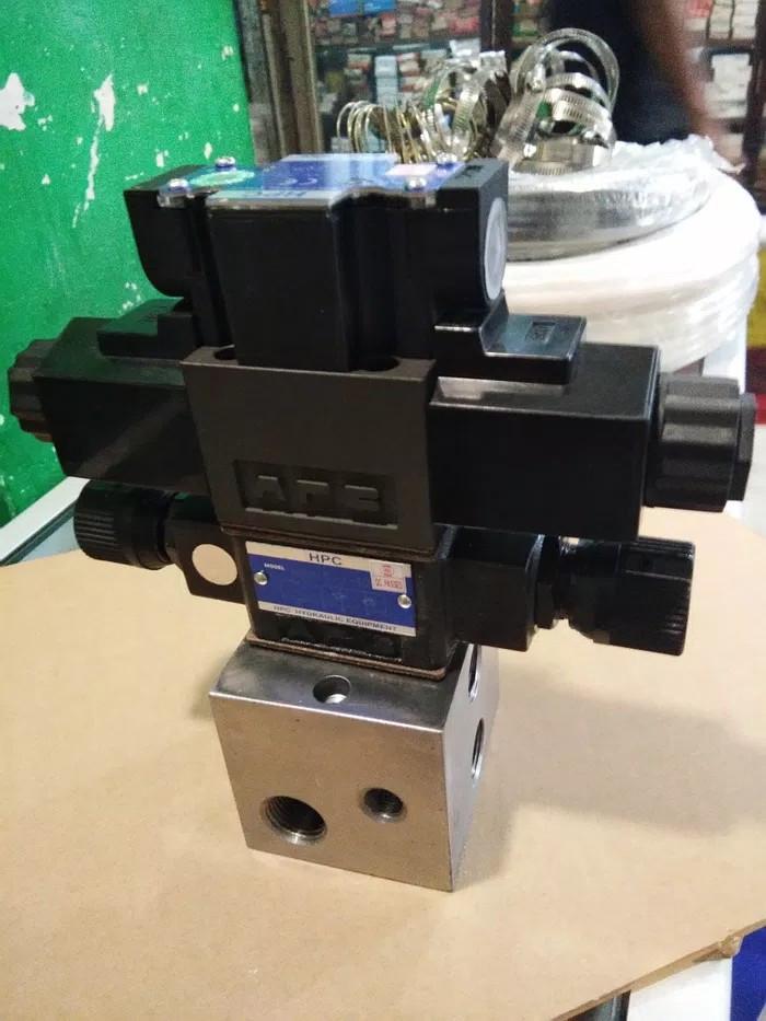 Jual Set solenoid valve hydraulic Hpc modular valve+check valve+manifold -  DKI Jakarta - berkah teknik glodok   Tokopedia