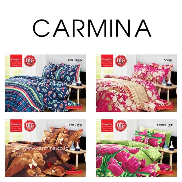 Nur collection Set Bedcover + Sprei Rumbai CARMINA 180x200 King Size 1