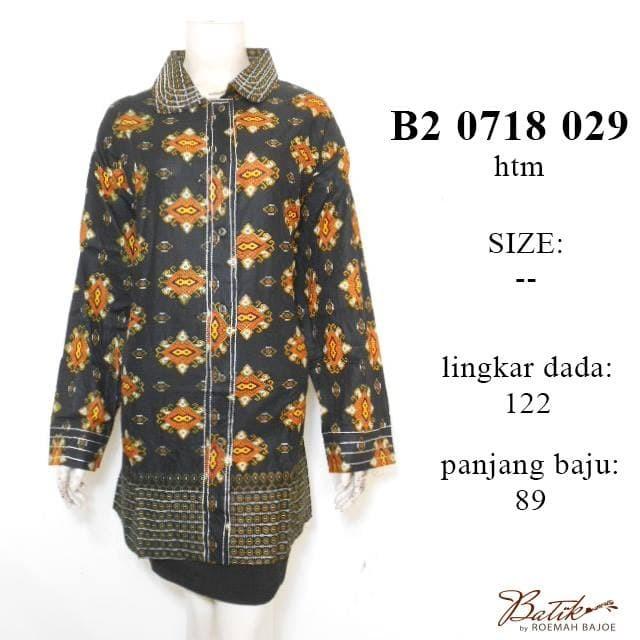 harga Blus batik jumbo b20718029 batik wanita muslim / blus batik bigsize Tokopedia.com