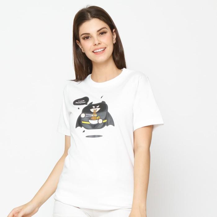 Kuki style batman - white - putih s