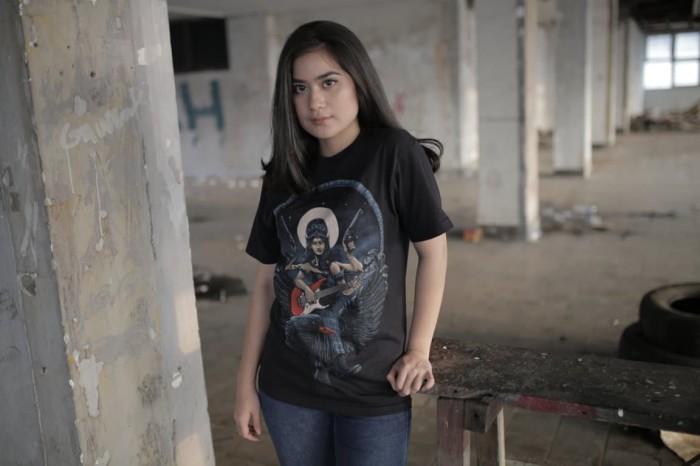 Culture Hero   Kaos Distro Keren Budaya Indonesia: Dark Saraswati - Hitam, M