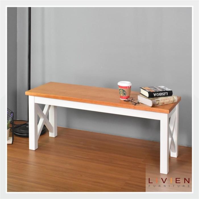 harga Livien- kursi kayu / bench maple story / bangku kayu / mebel furniture Tokopedia.com