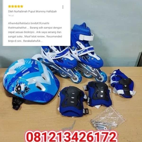 Home » Olahraga » Sepatu Roda sayang Anak (Lengkap Fullset). Rp 240.000. Rp  240.000. Inilah Harga Terbaru ... 36f359d029