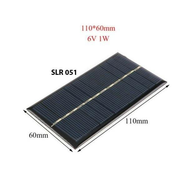 harga Diy solar panel surya solar cell mini 6v 1w powerbank power bank Tokopedia.com