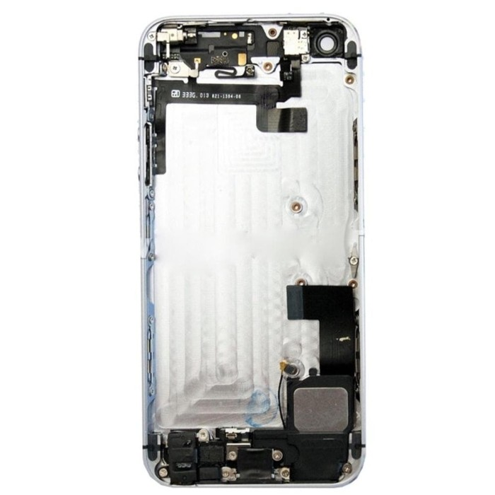 Jual Apple Iphone 5S Silver Body Housing Replacement With All Part ... 454a2a79ed