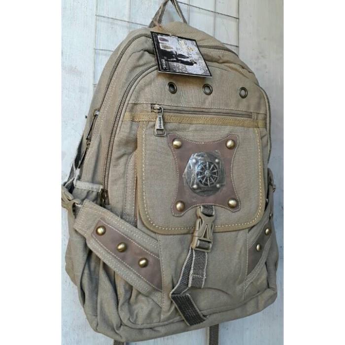 Backpack Kanvas Krem - Info Harga Baru Produk Terbaru Di Indonesia 75b30fb6bb