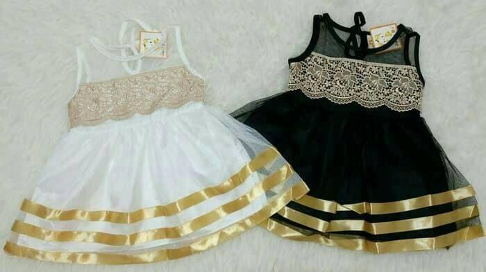 harga Baju bayi perempuan / baju gaun pesta / dress bayi brokat Tokopedia.com
