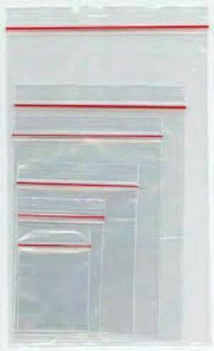 harga Kantong plastik pe klip bening/zipper/ziplock 16x25 Tokopedia.com