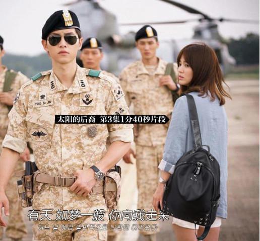 Foto Produk Tas Ransel Korea Wanita Import BlackStar Backpack Dots Terbaru (LJY03) - Hitam dari tkm online store