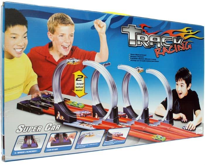 harga Mainan track racing 3 in 1 hot wheels 3 jalur Tokopedia.com