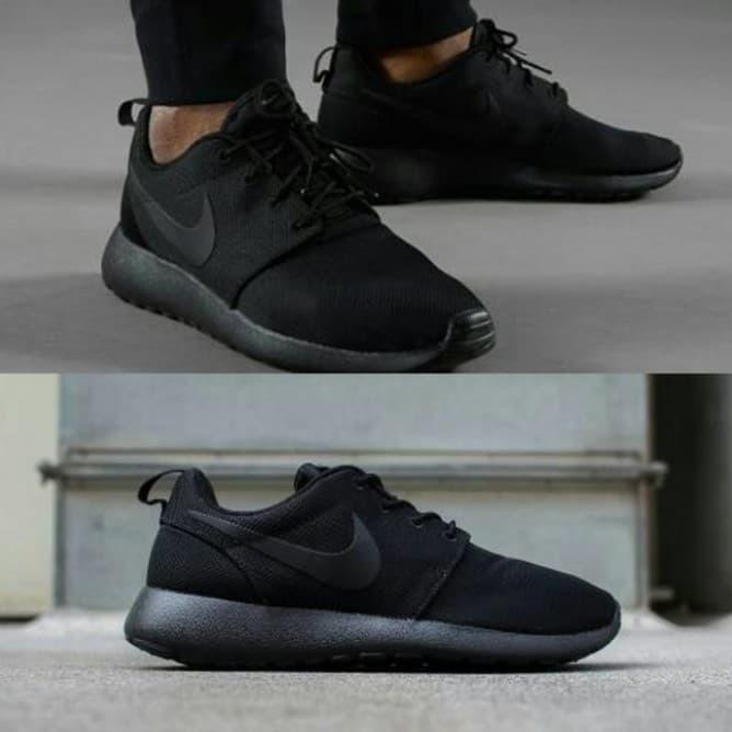 super popular 84e3b 48598 Jual Sepatu Original Nike Roshe Run One Full Black Casual Shoes Men Size -  Hitam, 42 - Jakarta Selatan - GOsepatuori | Tokopedia
