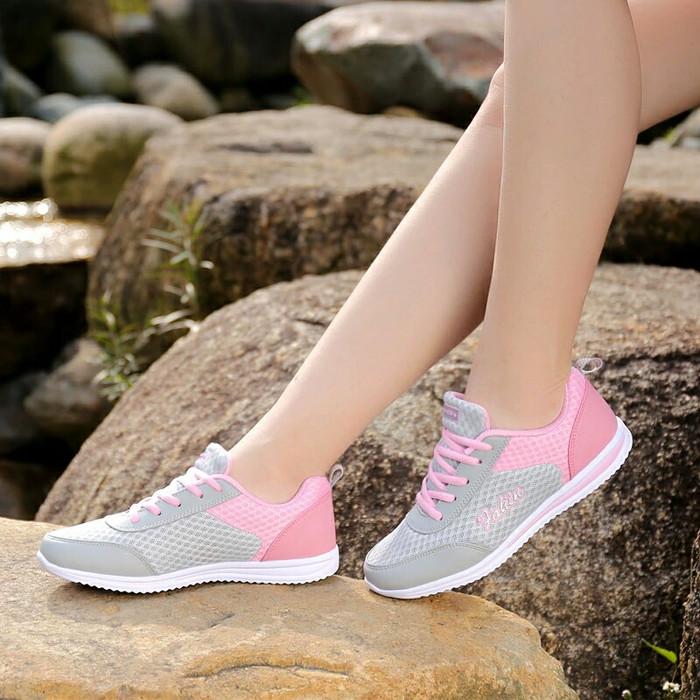 Jual Sepatu Kets Casual Wanita Sport Wanita Olahraga Kualitas