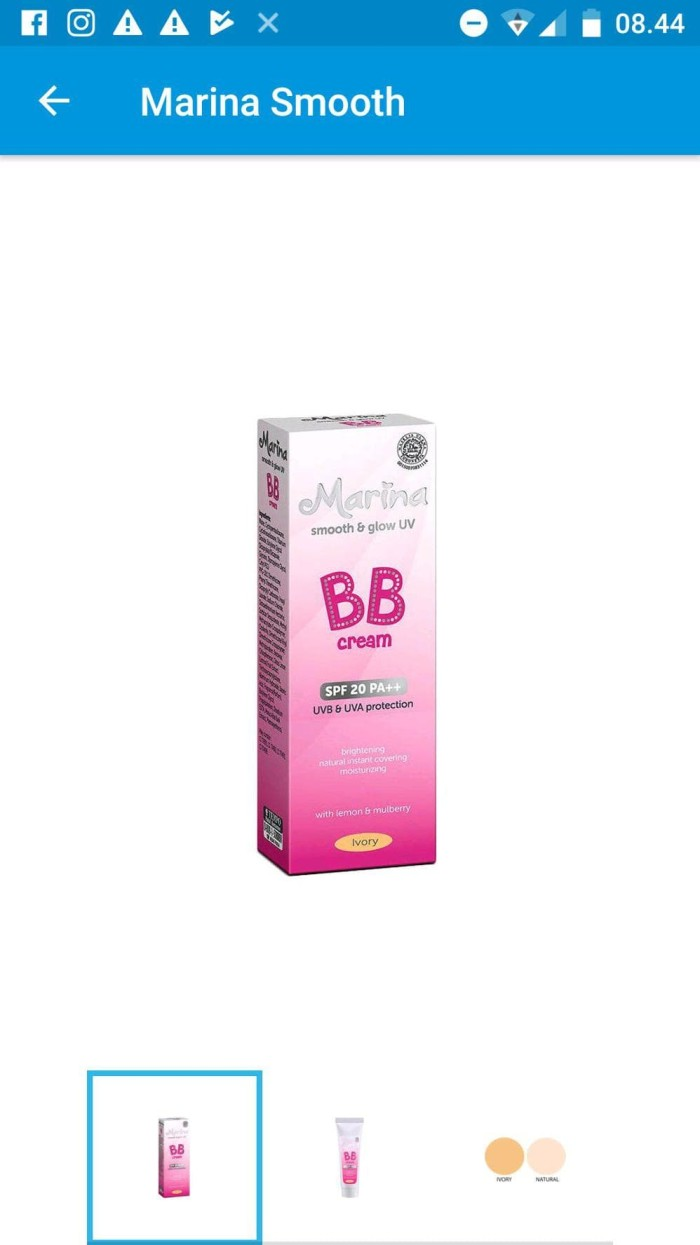 Katalog Marina Bb Cream Travelbon.com