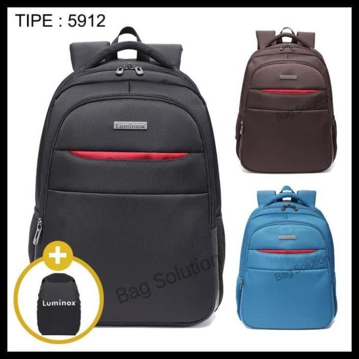 Luminox Tas Ransel Laptop Up To 15 Inch Anti Air 5912 Free Bag Cover