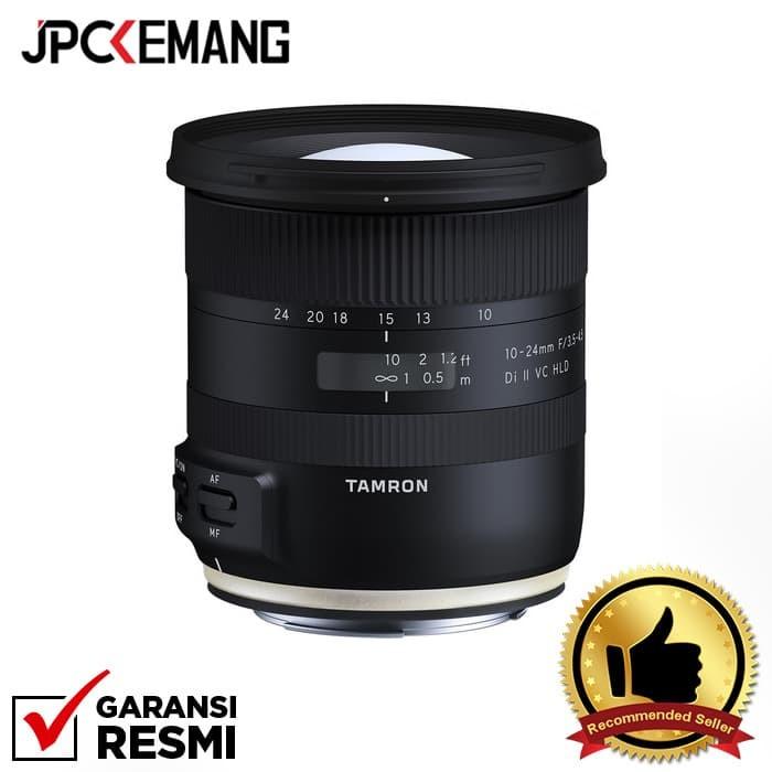 Jual Tamron For Canon 10-24mm F/3.5-4.5 Di Ii Vc Hld Garansi Resmi Harga Promo Terbaru