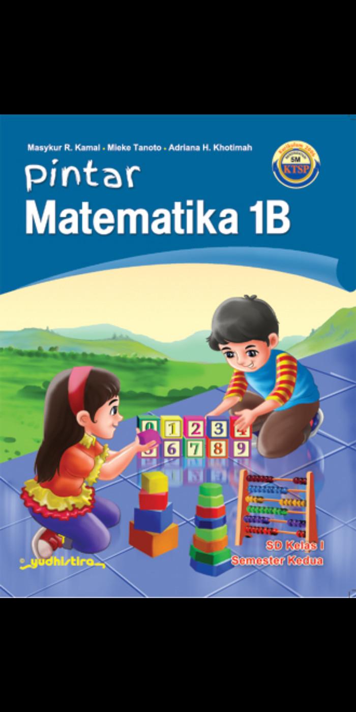 Foto Produk Pintar matematika kelas 1A 1B Sd Ktsp dari Tokobuku Rostangg