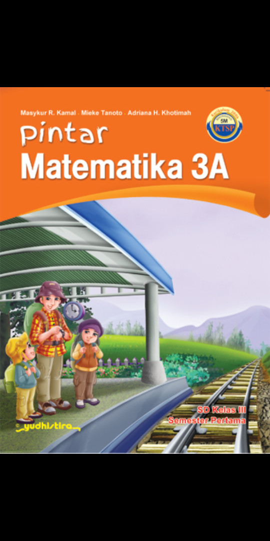 Foto Produk Pintar Matematika kelas 3A 3B Sd Ktsp dari Tokobuku Rostangg