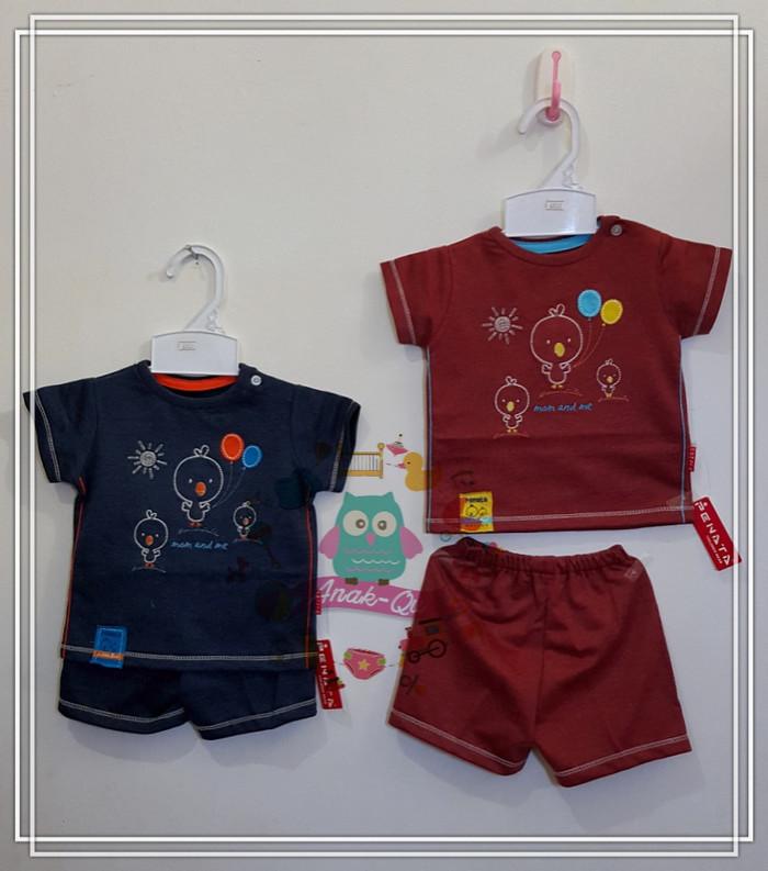 Jual Setelan Baju Bayi merk Penata - 0-3 Bulan, Maroon ...