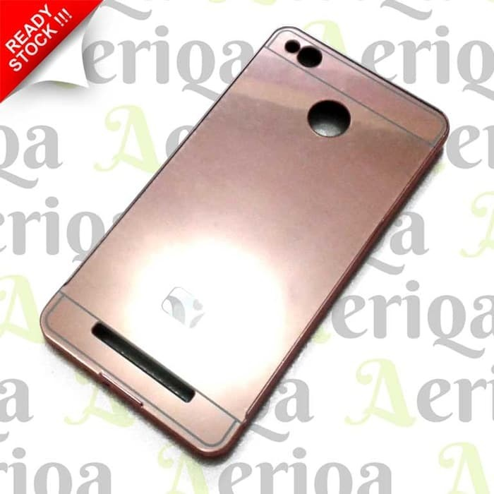 huge selection of c6de9 22bf4 Jual Bumper Aluminium Frame Xiaomi Redmi 3s / Pro / Prime - Mirror Case -  DKI Jakarta - Toko Lina Pesona | Tokopedia