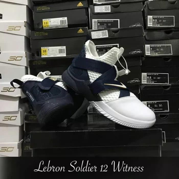 2af19a04a5fb Jual Sepatu Basket Nike Lebron Soldier 12 Witness - grovy.sport ...