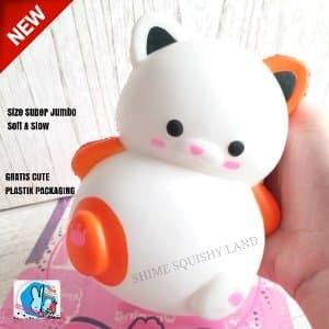 Squishy Murah Cute Kucing Soft & Slow Mainan Anak Limited