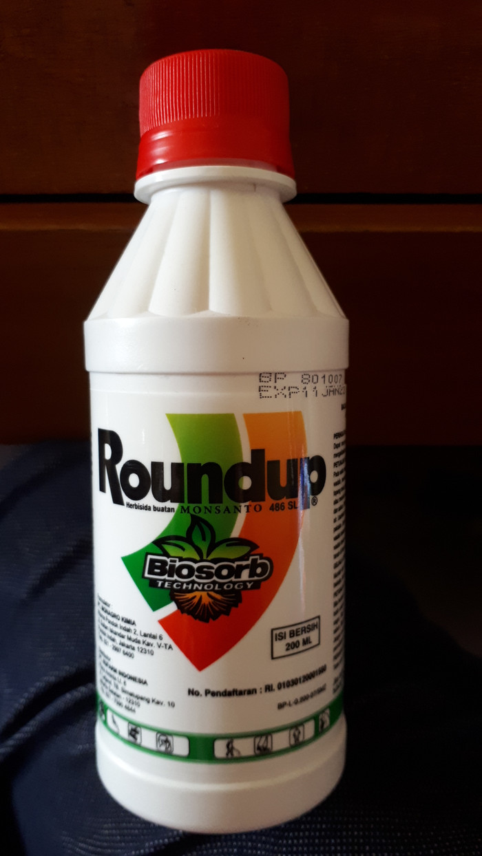 Roundup 486 SL 200ml / Roundup Pembasmi Rumput / Herbisida Rumput