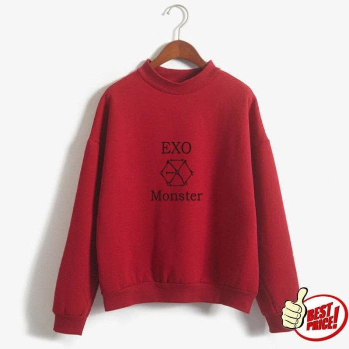 SWEATER EXO MONSTER | EXO BARU