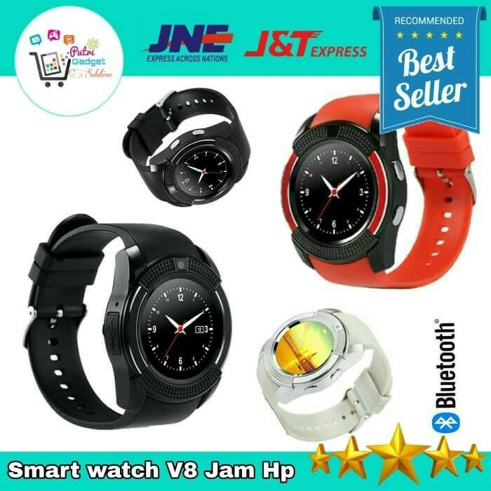 harga Watch casual pria wanita kids v8 smartwatch branded Tokopedia.com