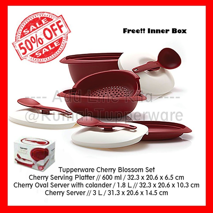 Katalog Tupperware Cherry Blossom Travelbon.com