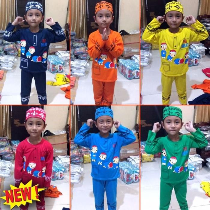 Baju koko anak Maruno umur 6 bulan 10 tahun Baju muslim anak Gamis a 1
