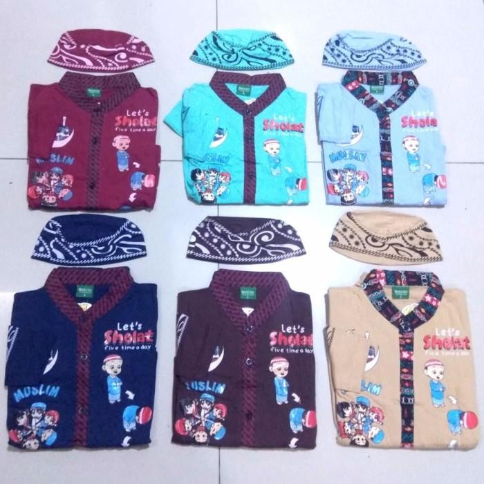 Baju koko anak Maruno umur 6 bulan 10 tahun Baju muslim anak Gamis a 2