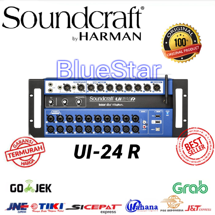 harga Digital mixer soundcraft ui 24 for android - ios Tokopedia.com