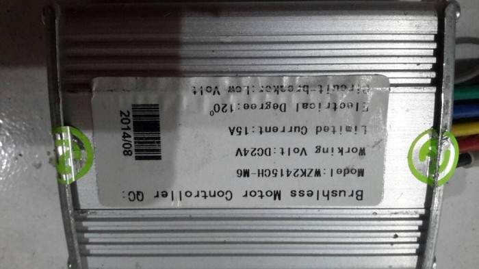 harga Kontroler sepeda listrik motor dinamo brushless bldc 24v 15a 350w Tokopedia.com