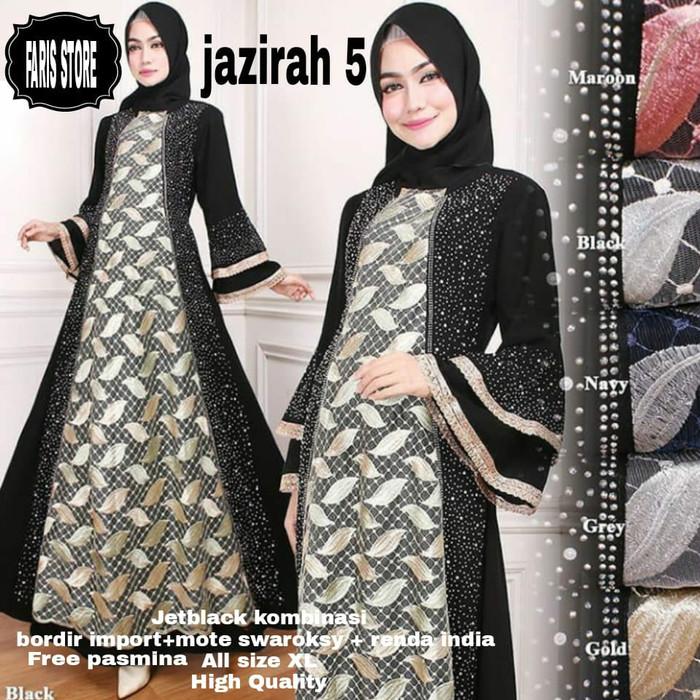 Baju Gamis Arab Wanita Model Hijab Terbaru