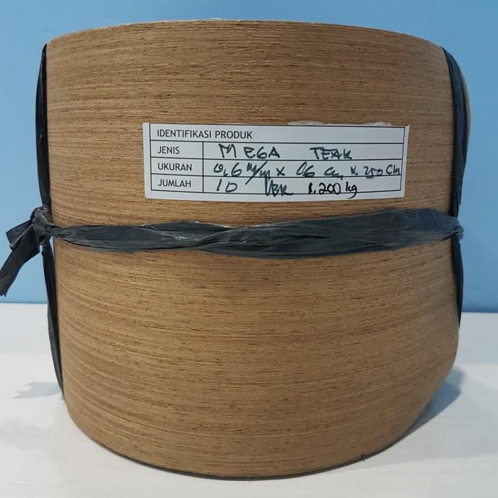 harga Vinir venner veneer kayu mega teak tebal 0.6mm pelapis mebel furniture Tokopedia.com