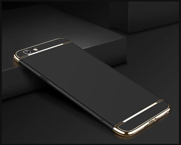 Oppo F1 plus 3 in 1 Hardcase PC / electroplating case / chrome case