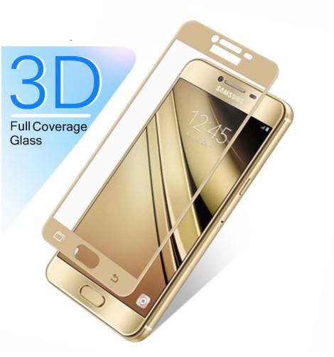 Foto Produk Tempered Glass 3D Full Cover Samsung S7 Flat - Hitam dari Allforgadget