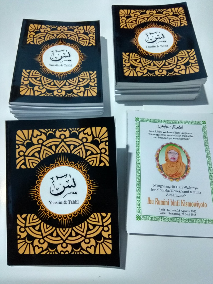 Jual Buku Yasin Dan Tahlil Softcover Kab Sleman Nana Grafika Tokopedia