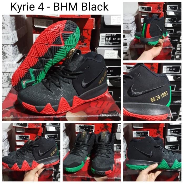 Sepatu Basket Nike Kyrie 4 BHM Black