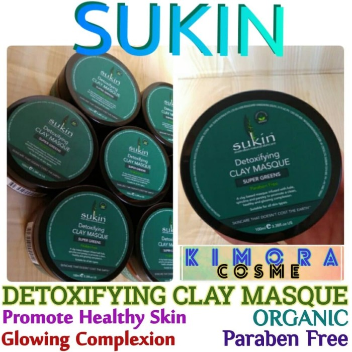Sukin Detoxifying Clay Masque Super Green 100ml