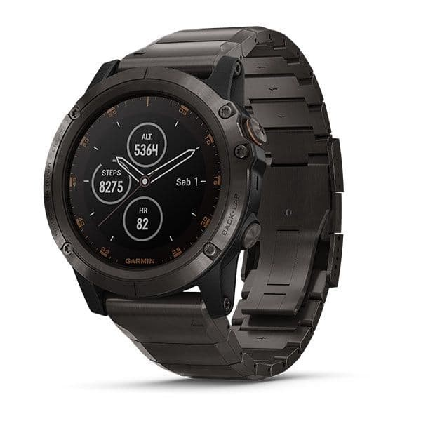 harga Garmin fenix 5x plus carbon gray dlc titanium with dlc titanium band Tokopedia.com