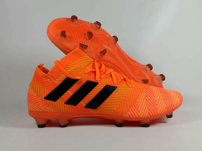 Jual Sepatu Bola Adidas Nemeziz 18 1 Orange Fg Kota Batam